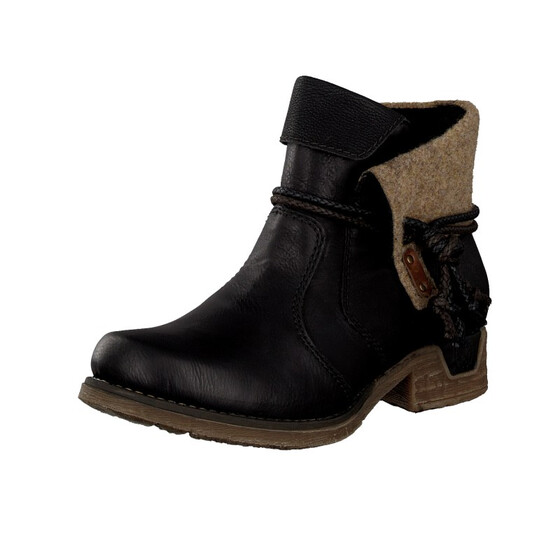 Rieker women boot black 79693 00