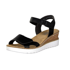 Rieker women sandal black 67968 00